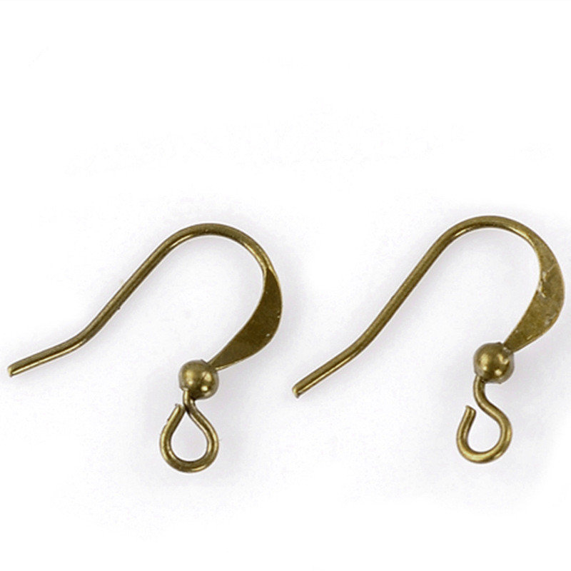 DoreenBeads Alloy Earring Components Hooks Twist Antique Bronze For DIY Jewelry Making 16mm(5/8