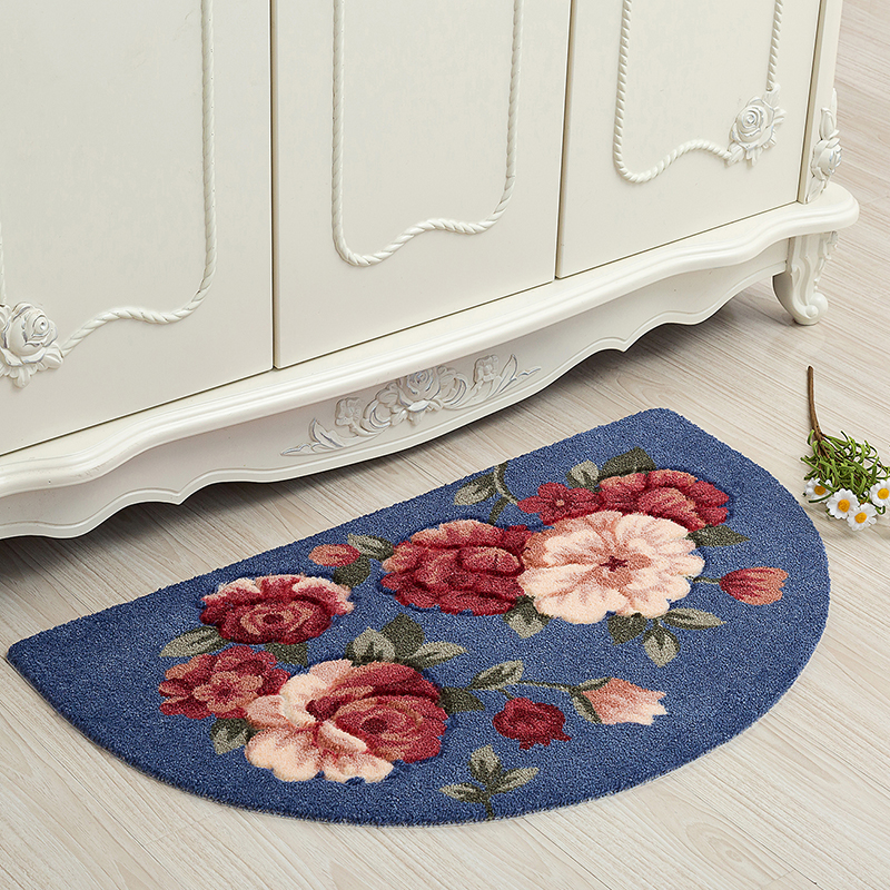 Semicircular Carpet Anti-slip Home Mats set tapis salle de bain Bathroom Floor Mat Set High Quality Bedroom Mat Super Soft Rugs