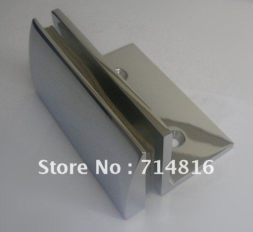 Glass Attachment Hardware : Buy golden shower hinge wall mounting glass brass