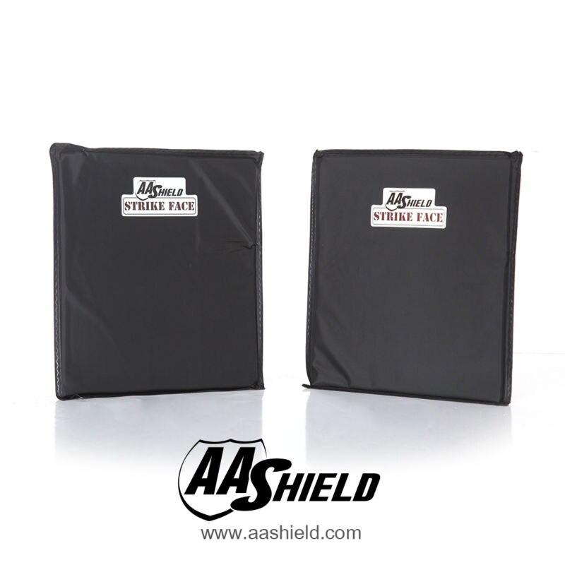 AA щит мягкие вставки брони Панель пуленепробиваемая пластина арамидное ядро баллистических самообороны питания NIJ IIIA и HG2 10x12 #0 пара
