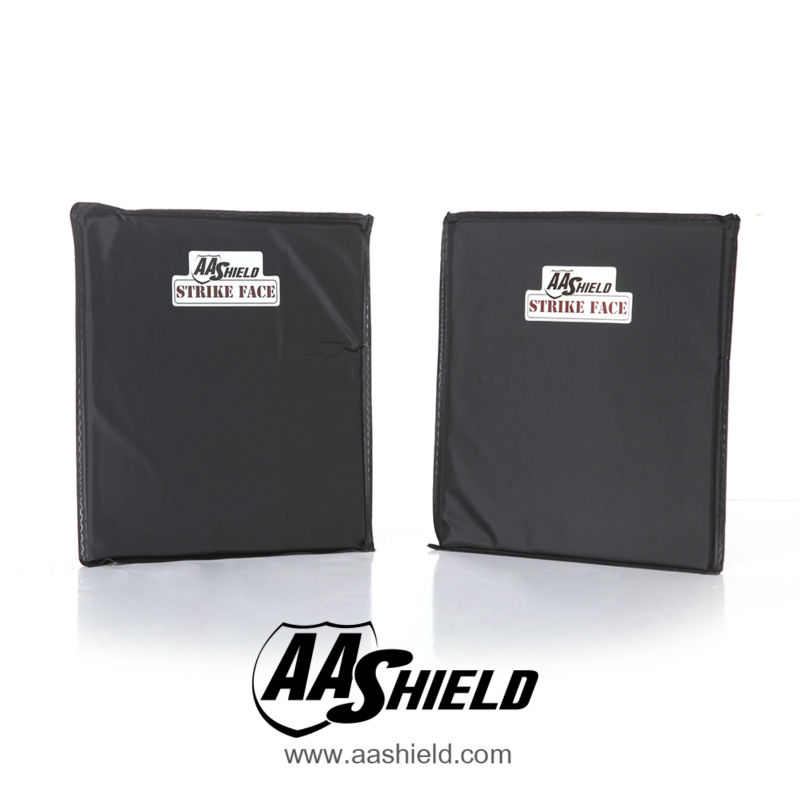 AA Shield Soft Armor Inserts Panel Bulletproof Plate Aramid Core Ballistic Self Defense Supply NIJ IIIA & HG2 10x12#0 Pair
