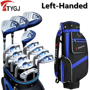 Brand TTYGJ, 13-pieces golf clubs LEFT handed unisex golf clubs complete set with bag left hand golf left handed golf clubs