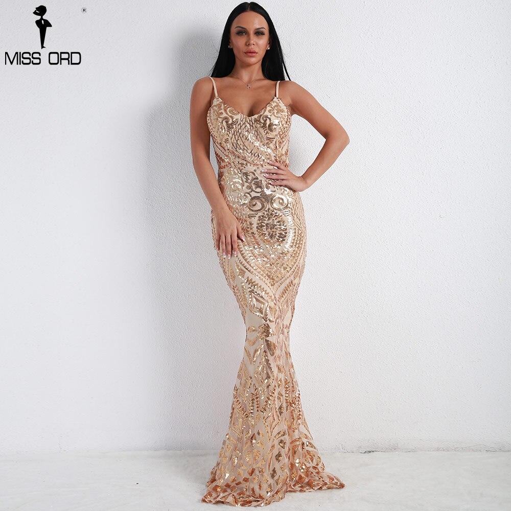 Missord 2019 Femmes Sexy Off Épaule Sequin Robes Femme Dos Nu Maxi Élégant  Partie Réfléchissant Robe 949ebe6c5483