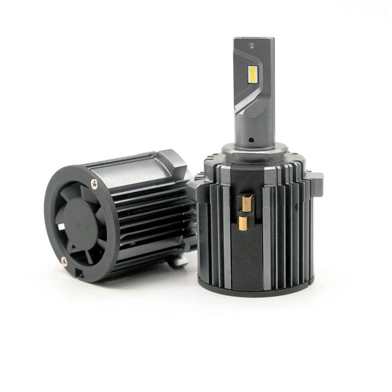 golf mk7 led headlight bulb canbus error free low beam 60W 7600LM 6000K 12V csp h7