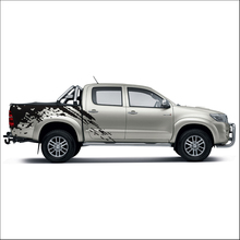 free shipping 2PC mudslinger body rear tail side graphic vinyl for TOYOTA HILUX VIGO 2011 2012 2013 2014