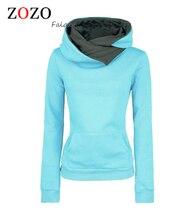 Отложным нагрудные воротником кофты пуловеры толстовки капюшоном твердые повседневная мужская женщины