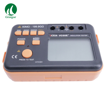 VC60E+ Digital Insulation Resistance Tester