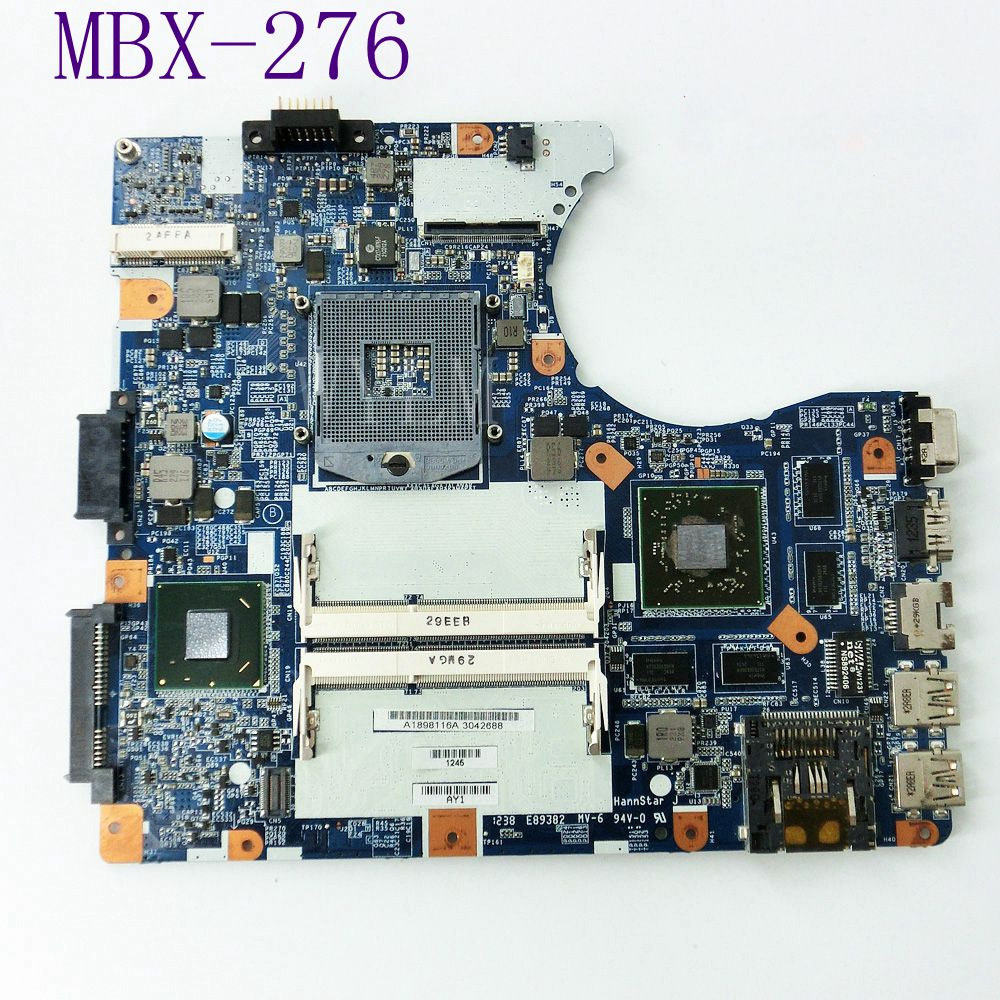 MBX-276 Mainboard For Sony MX-276 SVE14A SVE14 Series A1898116A 216-0833000 2G Laptop Motherboard DDR3 100% Tested Free Shipping fully tested mbx 215 m930 free shipping laptop motherboard for sony vpcf1 series notebook pc compare before order