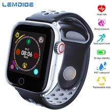 LEMDIOE NEW Heart Rate Blood Pressure Monitor Smart Watch Men Women Multi-sport mode IP67 Waterproof smartwatch for android ios(China)