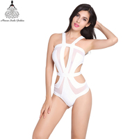 Swimwear Women Bandage One Piece Swimsuit Bathing Suit Monokini Departure Beach Trikini Swimwear Female Swimwear Bathing
