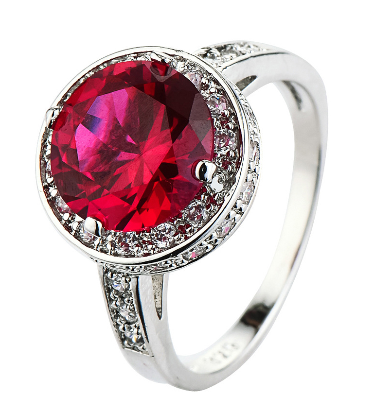 Popular Red Wedding Ring Buy Cheap Red Wedding Ring lots from