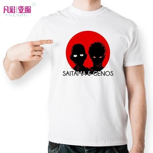 T Saitama Poinçon Shirt Inspiré Par Anime Japonais Genos One Design 7yIgmf6Ybv