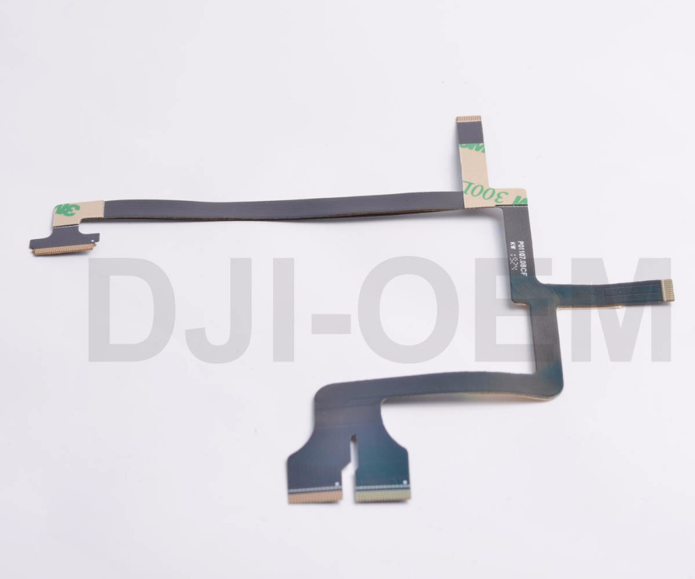 DJI Phantom 3 Professional/Advance Gimbal Cable Ribbon replace parts 90013 квадрокоптер dji phantom 3 professional