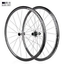 Высококачественные велосипедные колеса 700C, высокая 30 мм штангенциркуль, тормоз, алюминиевый сплав, дорожные велосипеды 700c, шины для передни...