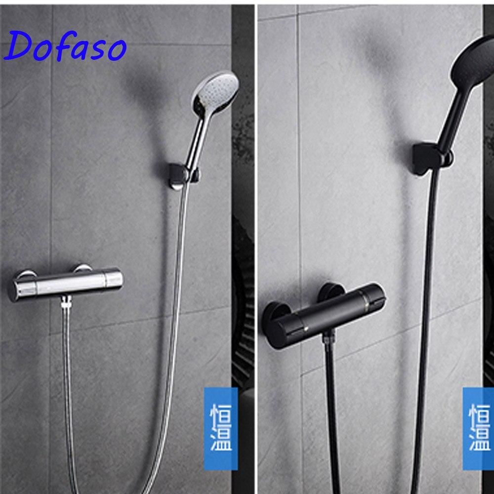 Dofaso robinet de douche thermostatique robinet intelligent ensemble de douche buse en laiton mitigeur thermostatique robinet de salle de bainDofaso robinet de douche thermostatique robinet intelligent ensemble de douche buse en laiton mitigeur thermostatique robinet de salle de bain
