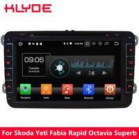 KLYDE 4G WIFI Octa Core Android 8.0 4GB RAM 32GB ROM Car DVD Player Radio For Volkswagen Amarok/Seat Leon Altea Toledo Alhambra