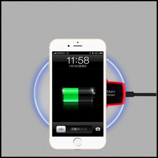 Carregador sem fio para iphone 5 se acessório fácil de usar banco de carregamento do telefone pad poder de carregamento pad para iphone 5c 6 s plus 7 plus case