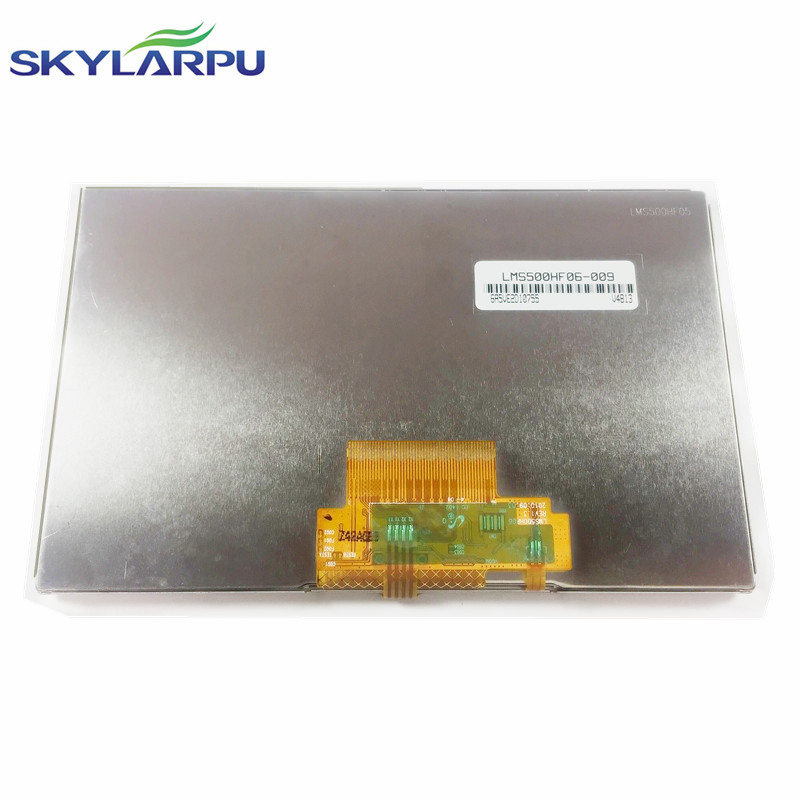 skylarpu 5 inch TFT LCD Screen for TomTom VIA 4ER51 Z1230 full display Screen panel with Touch screen digitizer replacement skylarpu 5 inch for tomtom xxl iq canada 310 n14644 full gps lcd display screen with touch screen digitizer panel free shipping