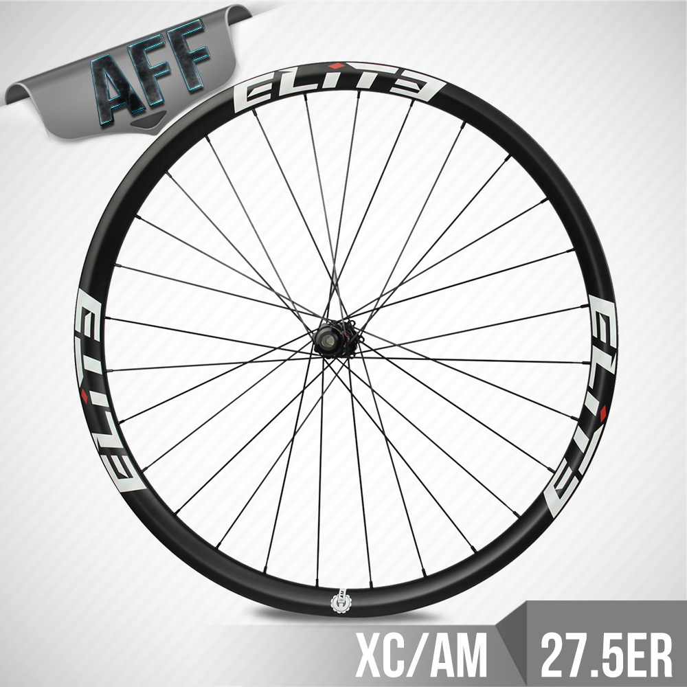ELITE DT Swiss 350 MTB Wheelset 35mm*35mm Hookless Carbon Rim Tubeless For 27.5 Cross Country Or All Mountain Bike Wheel