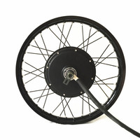 QS V3 electric bike hub motor wheel 10kw peak power on 16 17 18 19 motorcycle wheel