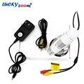 Sensor Coms profesional 400x TV AV Microscopio Digital Microscopio Monocular Portátil Mini Luz Industrial Venta Caliente