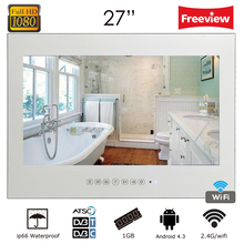 Souria New Design 27 inch Waterproof Android Smart Vanishing Magic Mirror TV with LAN WiFi Built