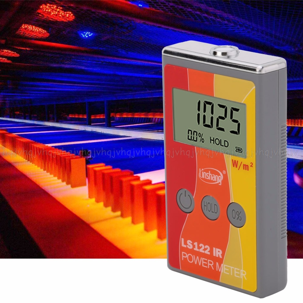 LS122 IR Solar Power Meter infrared intensity with Rejection Value Energy Tester JUN16 dropship