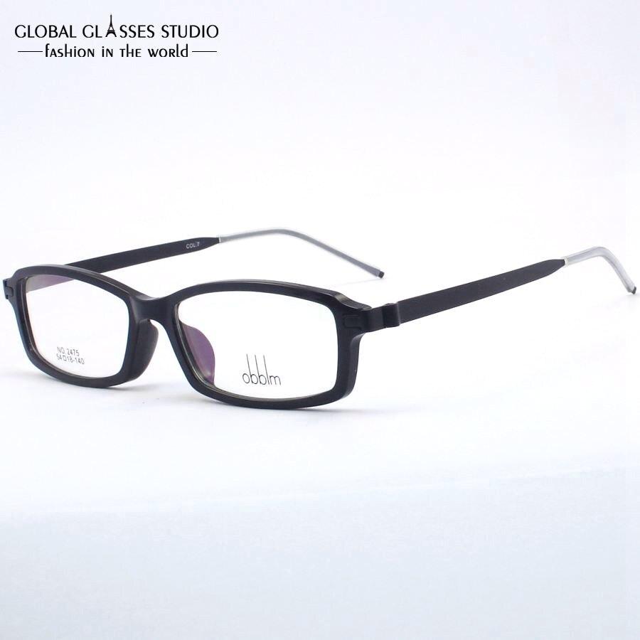 New High Quality Men/Women TR90 Hinge Black clean lens Glasses Frame ...