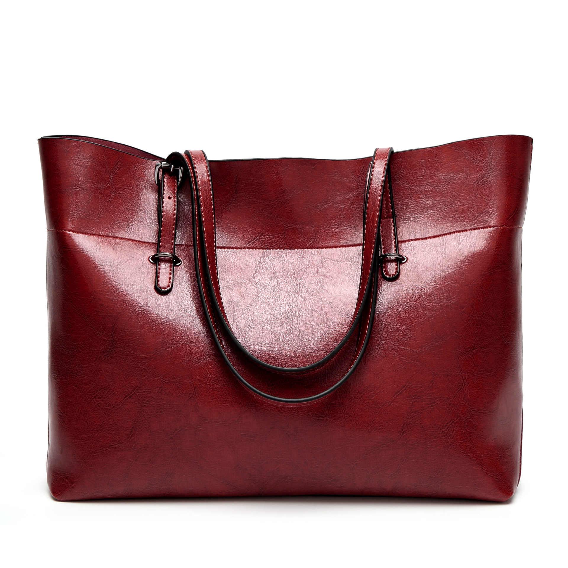 Сумки-мессенджеры для женщин 2019 большой размер Повседневная Сумка-тоут Сумки Твердые кожаные сумки известный бренд сумка на плечо sac Bolsa Feminina