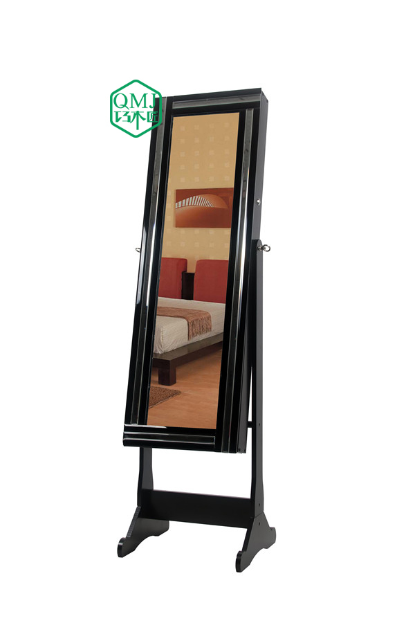 NEW Luxury Living Room Colorful Cabinet Lock Furniture Storage With Mirror For Makeup Organizer