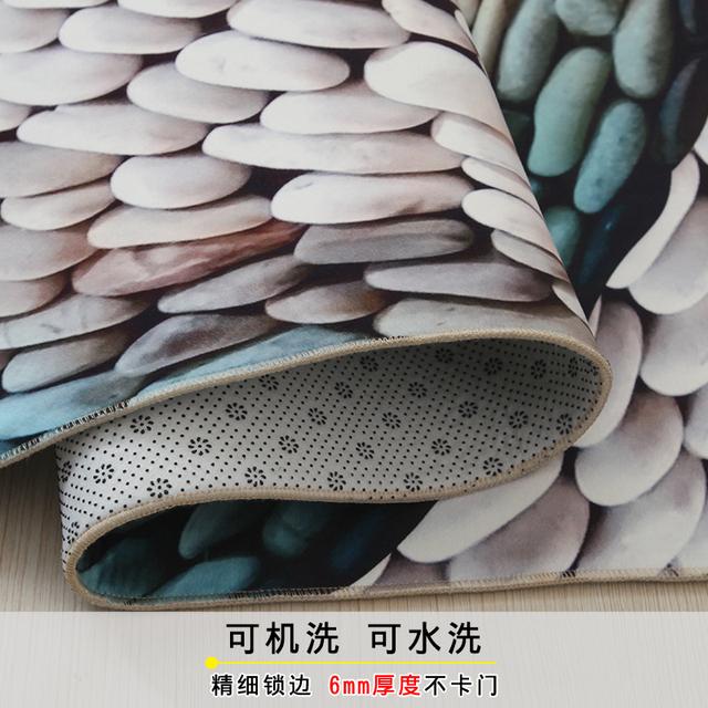 Different 3D designs rug