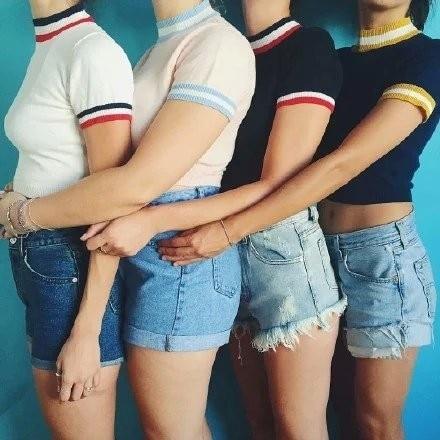 HTB1IkxDLXXXXXcoXXXXq6xXFXXXT - Women Knitted Crop Tops O-neck Short Sleeve Sweaters Sexy Streetwear PTC 245