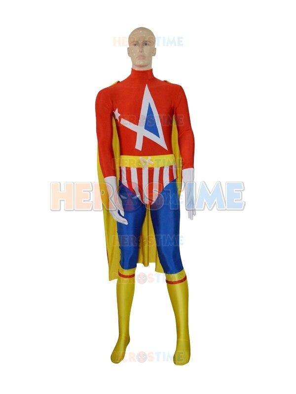 Envío gratis el más nuevo traje de superhéroe Spandex multicolor - Disfraces - foto 2