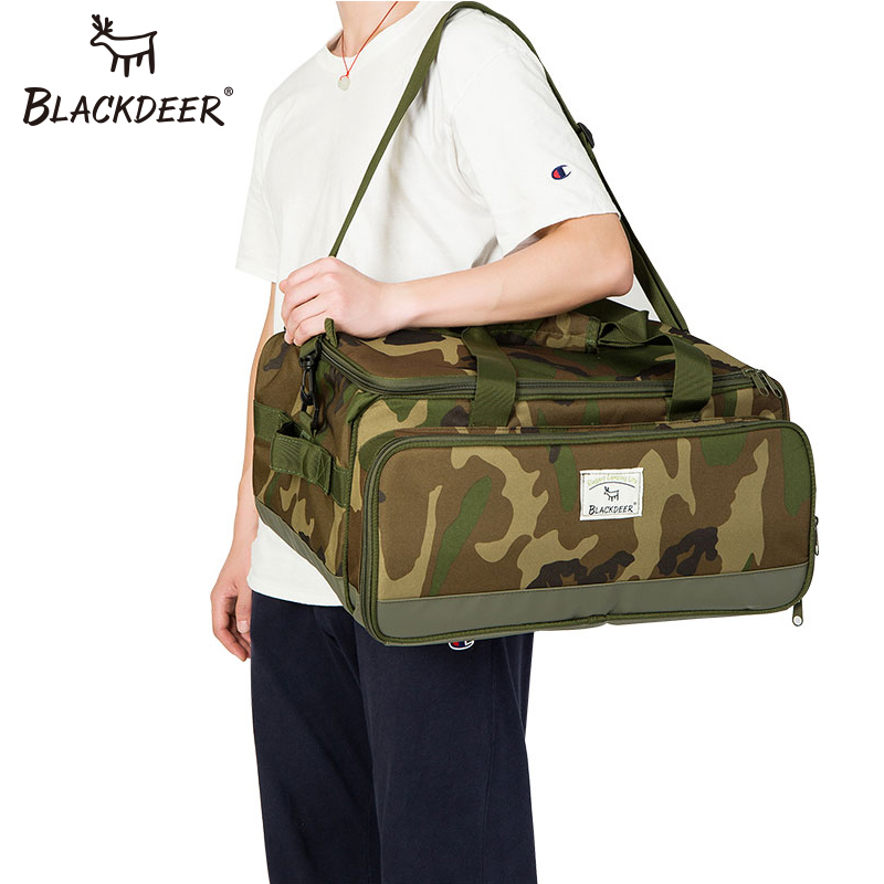 BLACKDEER Camping Travel Portable Separated Storage Bags Carry On Luggage Camouflage Bags Cookware Tote Large Weekend BagBLACKDEER Camping Travel Portable Separated Storage Bags Carry On Luggage Camouflage Bags Cookware Tote Large Weekend Bag