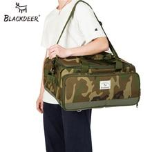 Sacs de rangement séparés portatifs de voyage de Camping de blackcerf portent des sacs de Camouflage de bagage fourre-tout de cuisine grand sac de week-end