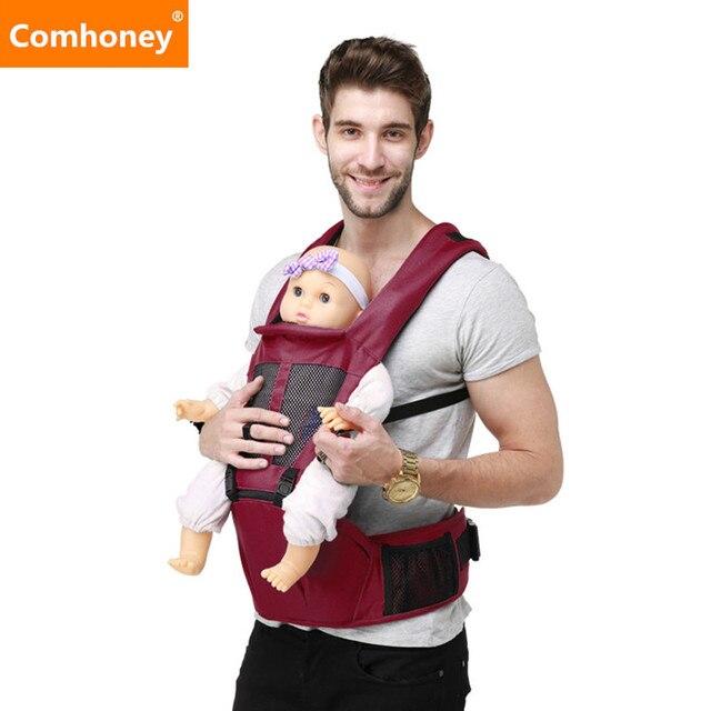 Baby Carrier Backpack Breathable 3 In 1 Kangaroo Multifunctional