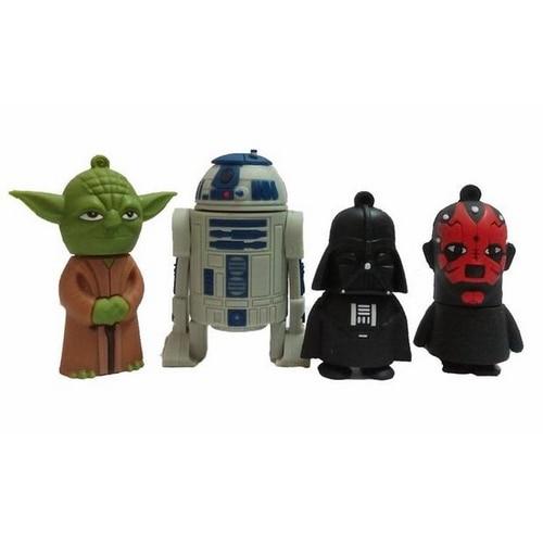 Star War USB 3.0 8GB 16GB 32GB 64GB Cartoon Darth Vader USB Flash Drive 3.0 Pen Drive Memory Stick Pendrive Yoda Gift Creativo