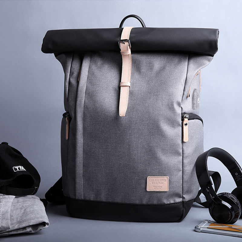 Kaka Brand Men Backpack Bag College Casual School Backpack Male School Bag With Usb 15.6 Laptop Backpacks Mochila Knapsack