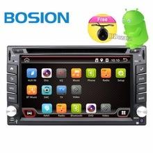 2 DIN android-автомобильный магнитола аудио стерео для универсального 2din Авторадио автомобильный DVD GPS навигации рулевого колеса wi-Fi Географические карты