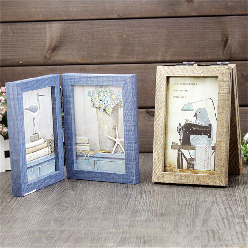 handmade wooden frame family picture frames bird pictures decorative gift photo frame for home wedding decoration