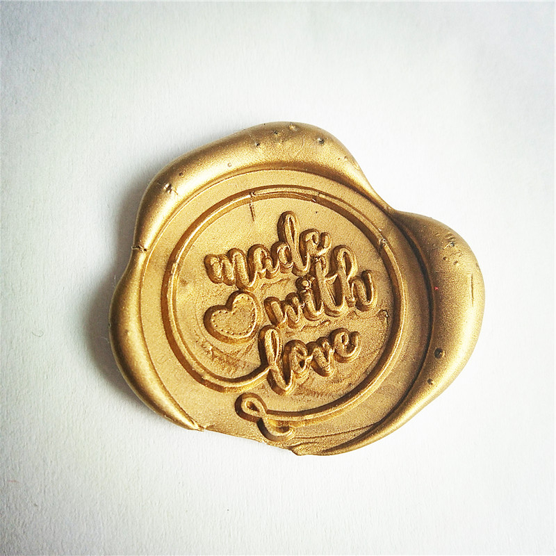 цена на Made with Love wax seal stamp/ Made with heart /wax sealing kit /Wax seal Gift Package /Gift for him/Gift for her/