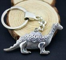 Home Decor Metal Crafts Party Favors Dinosaur Pendants DIY Car Key Ring Holder Souvenir For Gift