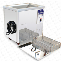 96L 301S 1500W Ultrasonic Cleaner Heater Timer Bath Adjustable Industry Ultrasonic Cleaning Machine