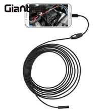 2M 7mm giantree 6LEDs 30W Pixels for Android OTG Endoscope Waterproof Inspection Snake Pipe Inspection Android Borescope Camera