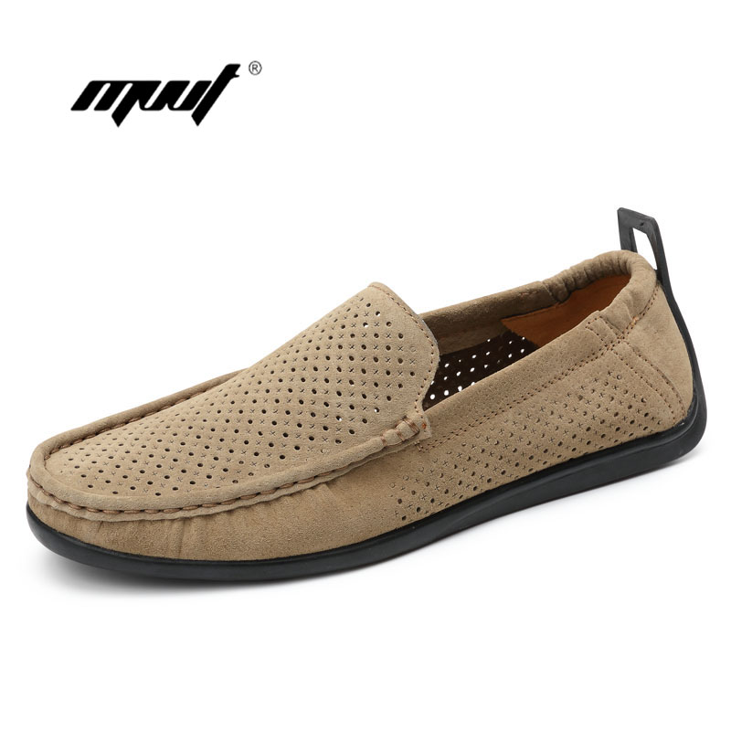 Summer shoes Men Loafers Casual Boat Shoes Fashion Genuine Leather Slip On Driving Shoes Moccasins Hollow Out Men Flats 2017 new fashion summer spring men driving shoes loafers real leather boat shoes breathable male casual flats