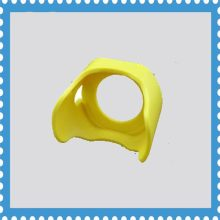 30mm emergency stop button dust cover push button switch safety cover yellow switch cover(China)