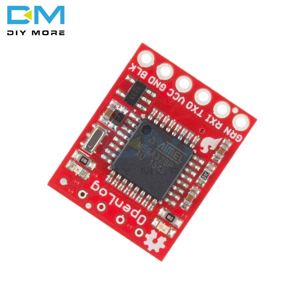 Openlog Serial Data Logger Gravador de Dados do Módulo Para Arduino Open  Source 16 mhz ATmega328 Apoio Às Micro SD 3 3 V- 12 V SPI Pin 64G