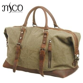 bolsas bolsa viaje de lona militar Hombres de de gran bolsos d0Pwdpq