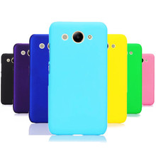 Phone Case sFor Fundas Huawei Y3 2017 case For Coque 2018 Candy Color Hard plastic PC cover phone cases