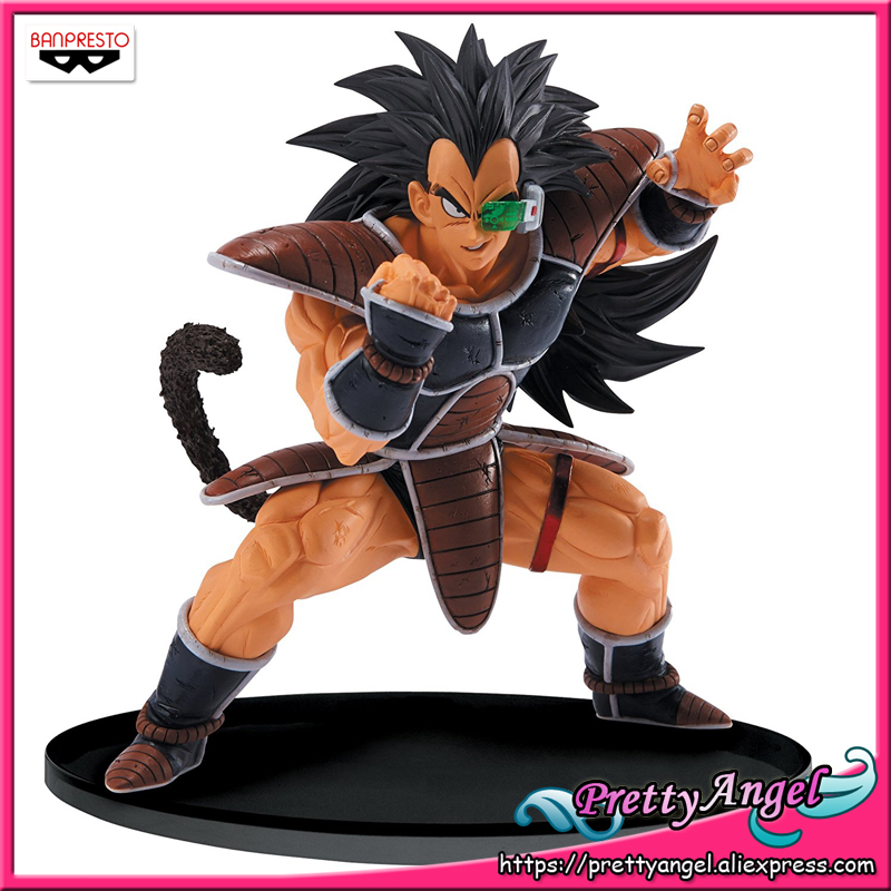 PrettyAngel - Genuine Banpresto Dragon Ball Z/Kai  SCultures Big 5 Vol.4 Raditz Toys Action Figures earth 2 society vol 4 life after death